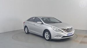 2011 Hyundai i45 YF MY11 Active Sleek Silver 6 Speed Automatic Sedan Perth Airport Belmont Area Preview