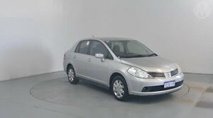 2009 Nissan Tiida C11 MY07 ST Platinum 4 Speed Automatic Sedan Perth Airport Belmont Area Preview