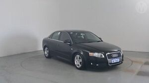 2006 Audi A4 B7 Multitronic Black 7 Speed Constant Variable Sedan Perth Airport Belmont Area Preview