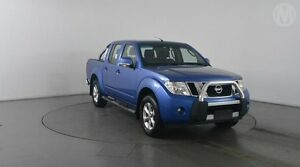 2012 Nissan Navara D40 ST (4x4) Altitude Blue 6 Speed Manual Dual Cab Pick-up Eagle Farm Brisbane North East Preview