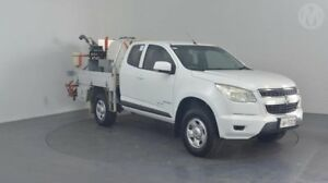 2013 Holden Colorado RG MY13 LX Space Cab Summit White 6 Speed Sports Automatic Cab Chassis Perth Airport Belmont Area Preview