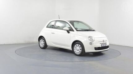 2013 Fiat 500 MY13 POP Ambient White 5 Speed Automatic Hatchback Altona North Hobsons Bay Area Preview
