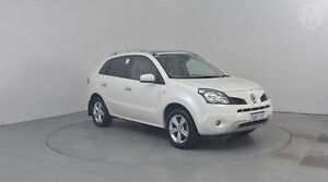 2010 Renault Koleos H45 Privilege (4x4) Pearl White Continuous Variable Wagon Perth Airport Belmont Area Preview