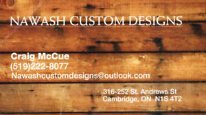 Nawash Custom Designs Cambridge Kitchener Area image 1