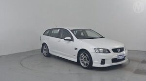 2012 Holden Commodore VE II MY12 SV6 Sportwagon Heron White 6 Speed Sports Automatic Wagon Perth Airport Belmont Area Preview