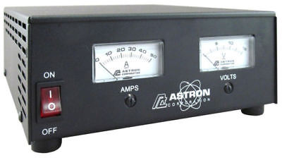 Astron Ss-50m - 50 Amp Switching Power Supply With Meters -- 40 Amp Continuous