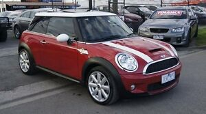 2007 Mini Cooper R56 S Chilli Red 6 Speed Manual Hatchback Brooklyn Brimbank Area Preview
