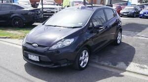2009 Ford Fiesta WS CL Black 5 Speed Manual Hatchback Brooklyn Brimbank Area Preview