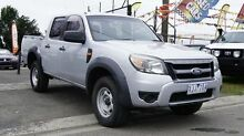 2009 Ford Ranger PK XL (4x4) Silver 5 Speed Automatic Dual Cab Pick-up Brooklyn Brimbank Area Preview