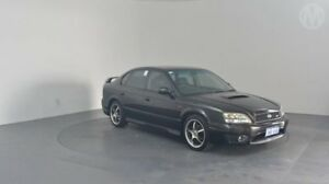 2002 Subaru Liberty B3 MY03 B4 AWD Black 4 Speed Sports Automatic Sedan Perth Airport Belmont Area Preview