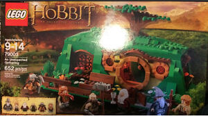 Lego 79003 The Hobbit An Unexpected Gathering Sealed bag bx open