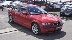 2003 BMW 318I E46 Red 5 Speed Auto Steptronic Sedan Brooklyn Brimbank Area Preview