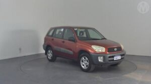 2001 Toyota RAV4 ACA21R Edge Red 4 Speed Automatic Wagon Perth Airport Belmont Area Preview