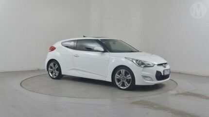 2012 Hyundai Veloster FS MY13 White 6 Speed Auto Dual Clutch Coupe Altona North Hobsons Bay Area Preview