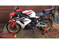 2007 Honda CBR1000RR HRC. This is an excellent example of the last pre electronics super bikes.