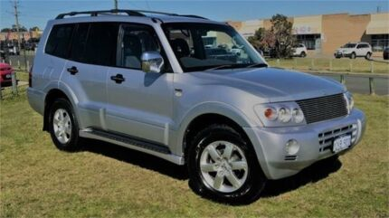 2006 Mitsubishi Pajero NP MY06 VR-X LWB (4x4) Silver 5 Speed Auto Sports Mode Wagon Wangara Wanneroo Area Preview