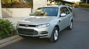 2012 Ford Territory SZ TX SEQ SPORT SHIFT R Silver Semi Auto Albion Brisbane North East Preview