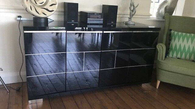 Contemporary large sideboard.