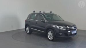2012 Volkswagen Tiguan 5N MY12.5 155TSI DSG 4MOTION Deep Black 7 Speed Sports Automatic Dual Clutch Perth Airport Belmont Area Preview