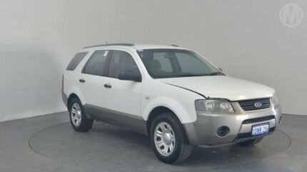 2009 Ford Territory SY MY07 Upgrade TX (RWD) Winter White 4 Speed Auto Seq Sportshift Wagon Perth Airport Belmont Area Preview
