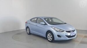 2012 Hyundai Elantra MD Active Clean Blue 6 Speed Automatic Sedan Perth Airport Belmont Area Preview