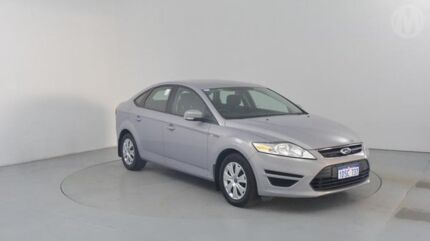 2011 Ford Mondeo MC LX PwrShift TDCi Moondust Silver 6 Speed Sports Automatic Dual Clutch Hatchback Perth Airport Belmont Area Preview