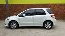 2007 Suzuki SX4 GYA S White 4 Speed Automatic Hatchback Upper Ferntree Gully Knox Area Preview