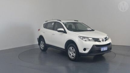 2014 Toyota RAV4 ZSA42R GX (2WD) Glacier White Continuous Variable Wagon Perth Airport Belmont Area Preview
