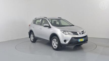 2013 Toyota RAV4 ASA44R GX (4x4) Silver Pearl 6 Speed Automatic Wagon Perth Airport Belmont Area Preview