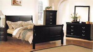 New!!! Louis Phillip Bedroom Set ONLY $629... Set includes Dresser, Mirror, Queen Headboard, Queen Footboard and Queen R
