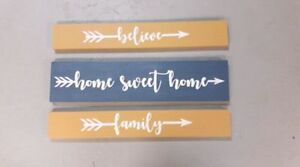Wood Signs with Beautiful Sayings