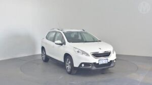 2015 Peugeot 2008 A94 Active Bianca White 4 Speed Sports Automatic Wagon Perth Airport Belmont Area Preview