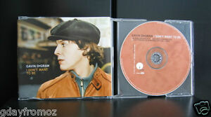 Gavin-DeGraw-I-Dont-Want-To-Be-4-Track-CD-Single-Incl-Video
