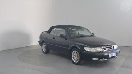 2001 Saab 9-3 MY2001 S Black 4 Speed Automatic Convertible Perth Airport Belmont Area Preview