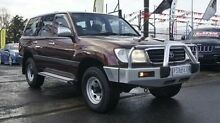 1999 Toyota Landcruiser FZJ105R GXL (4x4) Burgundy 4 Speed Automatic 4x4 Wagon Brooklyn Brimbank Area Preview