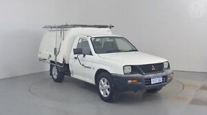 2002 Mitsubishi Triton MK GL White 5 Speed Manual Cab Chassis Perth Airport Belmont Area Preview