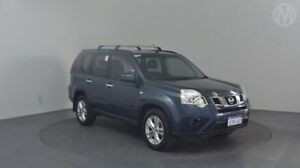 2012 Nissan X-Trail T31 MY11 ST (4x4) Tempest Blue 6 Speed CVT Auto Sequential Wagon Perth Airport Belmont Area Preview