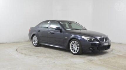 2006 BMW 525i E60 MY06 Upgrade Carbon Black 6 Speed Auto Steptronic Sedan