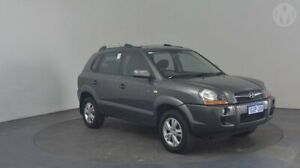 2008 Hyundai Tucson JM MY07 City SX Charcoal Grey 4 Speed Sports Automatic Wagon Perth Airport Belmont Area Preview