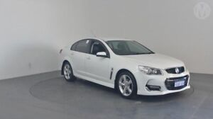 2016 Holden Commodore VF II MY16 SV6 Heron White 6 Speed Sports Automatic Sedan Perth Airport Belmont Area Preview