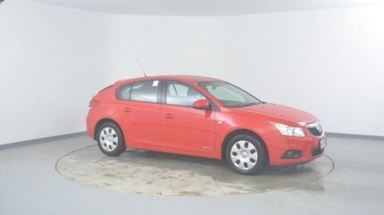 2012 Holden Cruze JH Series II MY13 CD Red Hot 6 Speed Sports Automatic Hatchback Wingfield Port Adelaide Area Preview