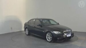 2007 BMW 325i E90 Steptronic Black Sapphire 6 Speed Sports Automatic Sedan Perth Airport Belmont Area Preview