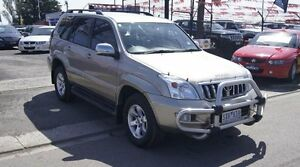 2004 Toyota Landcruiser Prado GRJ120R GXL (4x4) Gold 4 Speed Automatic Wagon Brooklyn Brimbank Area Preview