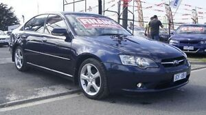2005 Subaru Liberty MY05 2.0I Luxury Blue 4 Speed Auto Elec Sportshift Sedan Brooklyn Brimbank Area Preview