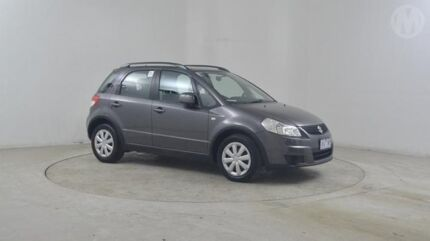 2012 Suzuki SX4 GY Crossover AWD Mineral Grey Continuous Variable Hatchback