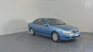 2006 Ford Fairmont BF Icon Blue 4 Speed Auto Seq Sportshift Sedan Perth Airport Belmont Area Preview