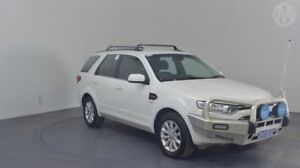 2014 Ford Territory SZ MkII TX Seq Sport Shift AWD Winter White 6 Speed Sports Automatic Wagon Perth Airport Belmont Area Preview