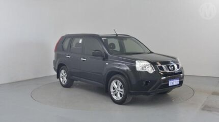 2011 Nissan X-Trail T31 MY11 ST (4x4) Black 6 Speed CVT Auto Sequential Wagon Perth Airport Belmont Area Preview