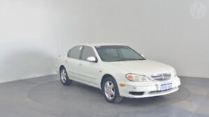 2000 Nissan Maxima A33 ST Alaskan White 4 Speed Automatic Sedan Perth Airport Belmont Area Preview