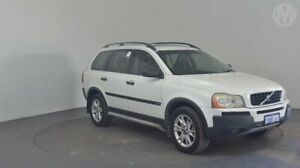2005 Volvo XC90 T6 White 4 Speed Auto Geartronic Wagon Perth Airport Belmont Area Preview